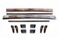 Mk1 Golf Polished Stainless Steel Series 1 Bumper Kit